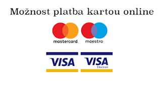 Možnost platby kartou online