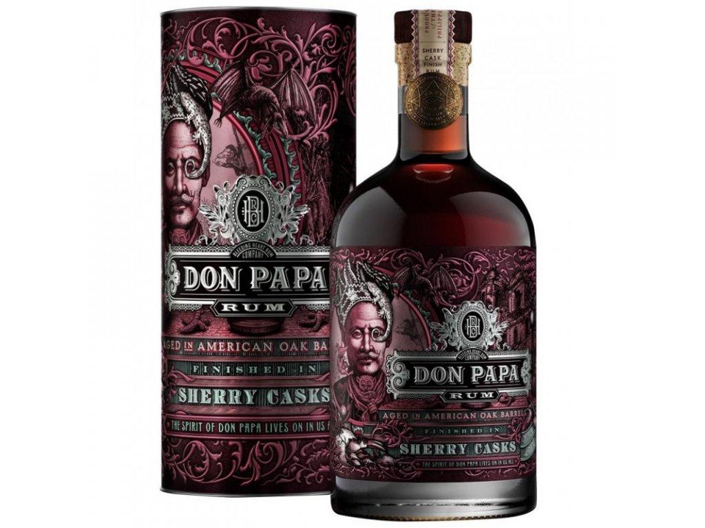 don papa sherry