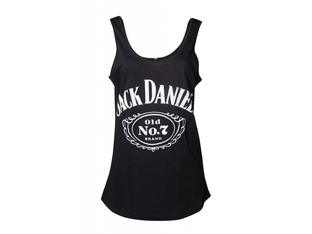 Jack Daniels - Tílko dámské logo No.7