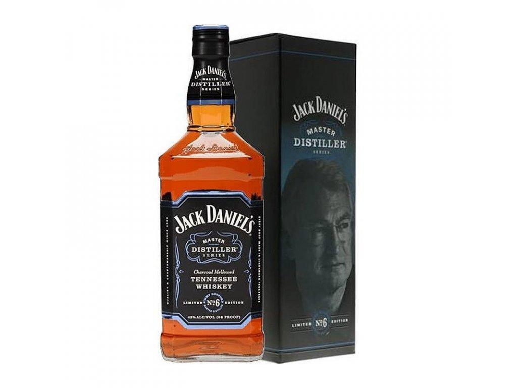 whisky jack daniels master distiller series n6 cl70