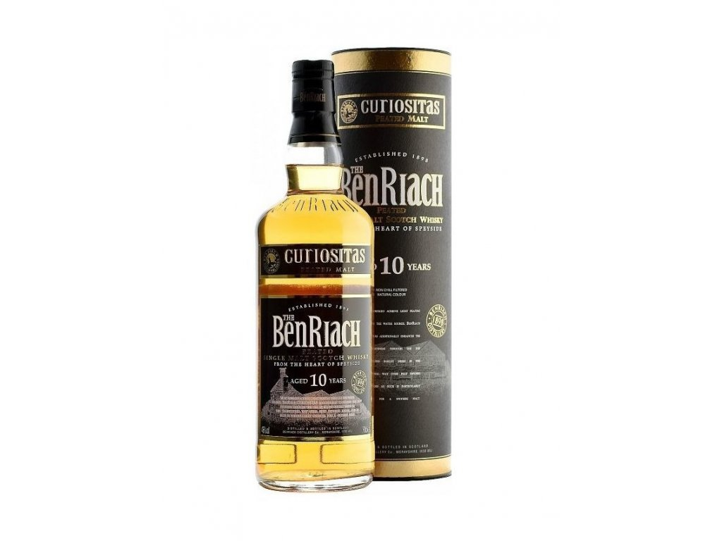 BENRIACH 10 let Curiositas