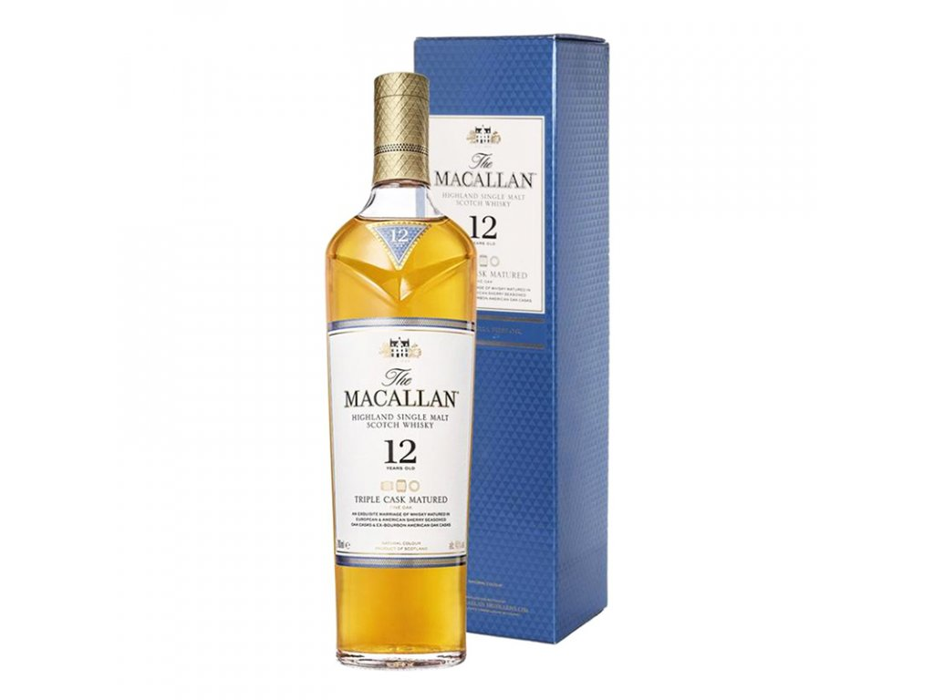 Macallan 12 Years Triple Cask Matured