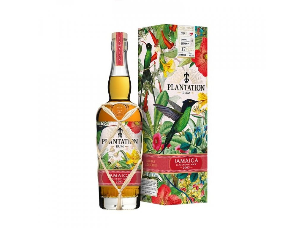 plantation rum jamaica 2003 one time limited edition