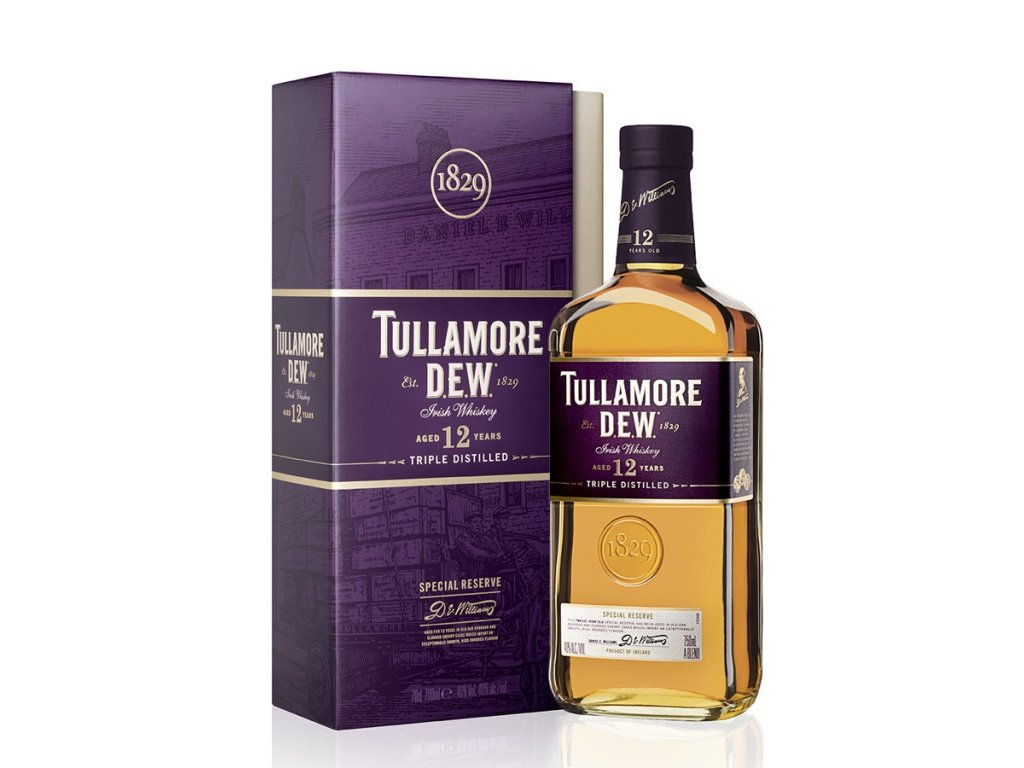 Tullamore Dew whiskey 12yo