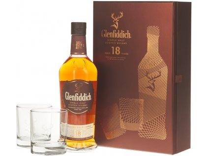 glenfiddich 18yo 2 skla 1