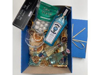 Vanocni box gin