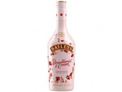 baileys strawberries cream limited edition liqueur 07l