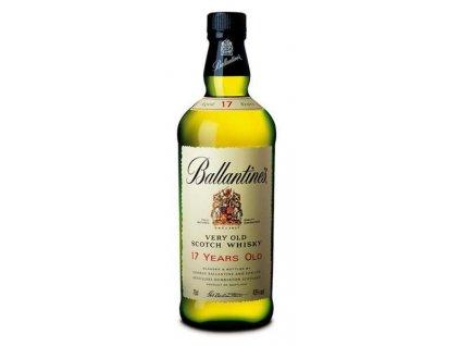 Ballantine's skotská whisky 17yo