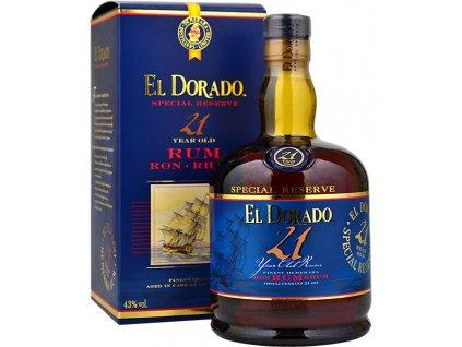 EL Dorado rum 21y