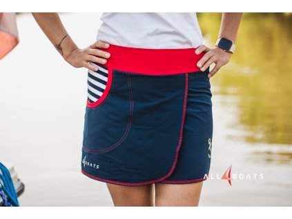 Dámská sukně Sailor, všité kraťasy
