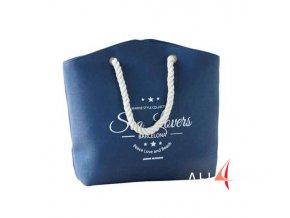 Plážová taška menší modrá