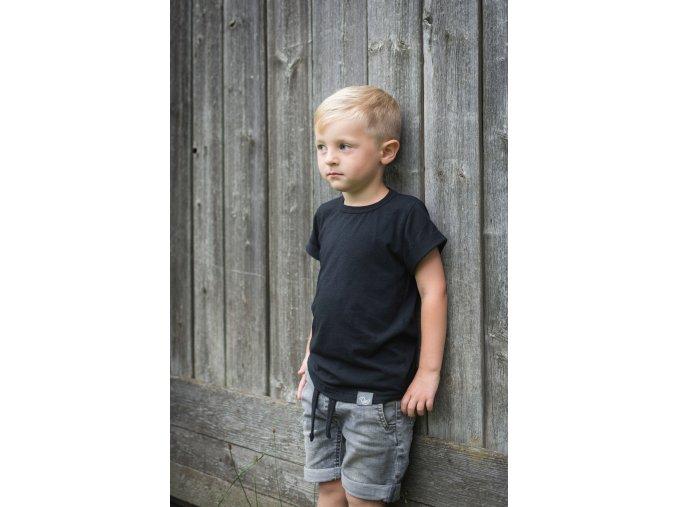 triko dětské basic střih