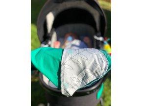 Letní zelená deka