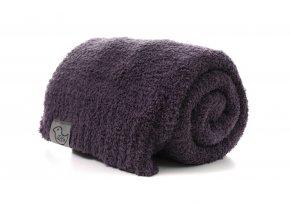 Luxusní deka antracit