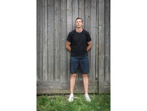 Basic - tričko černé pánské