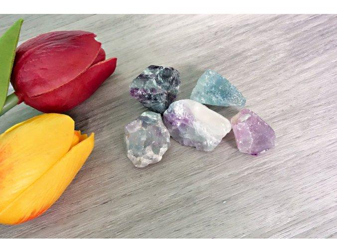 Krystal fluorit
