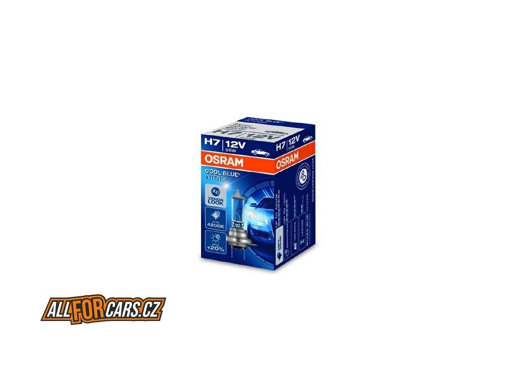 ŽÁROVKA Osram Cool Blue Intense 64210CBI-HCB H7 PX26d 12V 55W