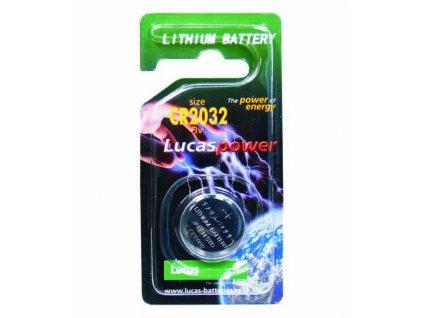Lithiová baterie CR2032(1ks)