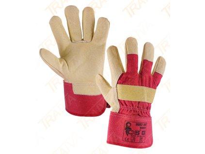 Kombinované rukavice BUDY - velikost 11