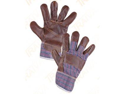 Kombinované rukavice DINO - velikost 10,5