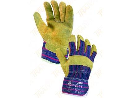 Kombinované rukavice ZORO velikost 9