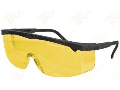 Ochranné brýle CXS Kid - žlutý zorník