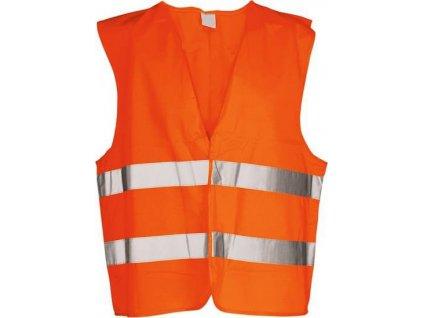 Výstražná vesta oranžová - součást povinné výbavy