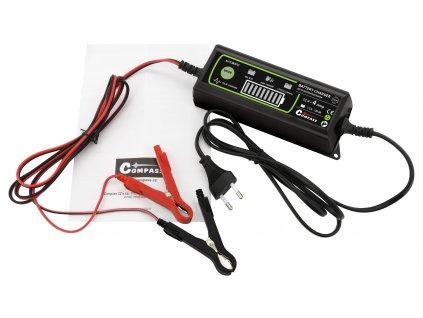 Nabíječka mikroprocesor 4Amp 12V PB/GEL/AGM/LiFePO4