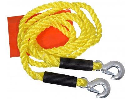 Compass tažné lano s karabinami 5000 kg