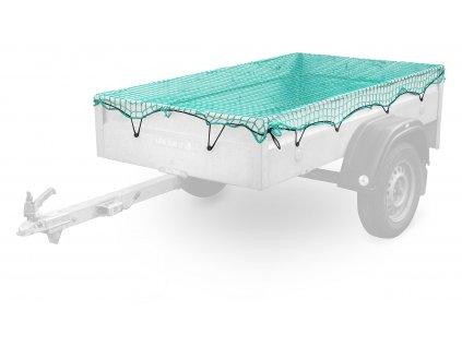 COMPASS Síť na přívěsný vozík 1,5x2,2m