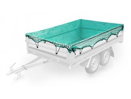 COMPASS Síť na přívěsný vozík 2x3m