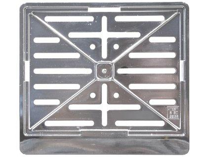 COMPASS Podložka pod SPZ - moto CHROM