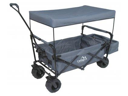 Přepravní vozík skládací Cattara Kempingový TROGIR ROOF