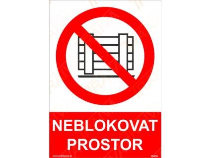 NEBLOKOVAT PROSTOR