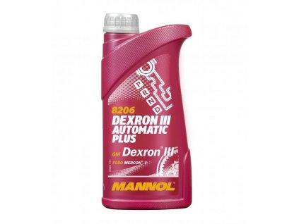 Mannol Dexron III AUTOMATIC Plus 1 l