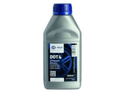 Brzdová kapalina DOT 4 0.5L Hella Pagid