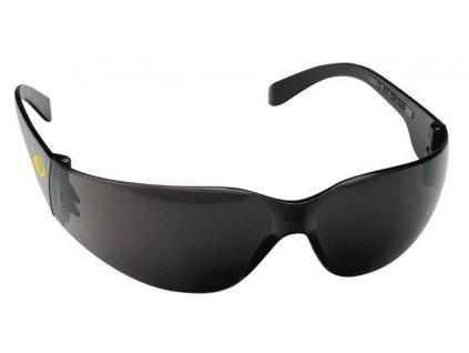 Brýle ochranné kouřové, tvrzený zorník