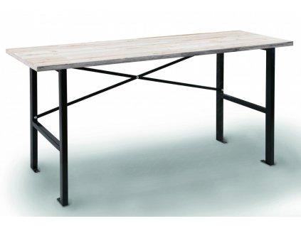 Dílenský pracovní stůl, dřevěná deska, 1650 x 600 x 850 mm