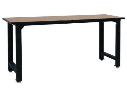 Dílenský pracovní stůl, zesílený, dřevěná deska, 2000 x 600 x 900 mm