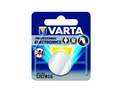 Knoflíková baterie Varta CR2016