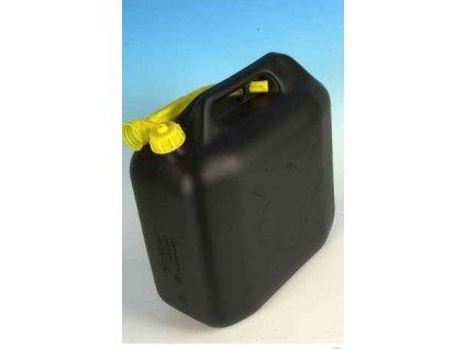 Kanystr plastový 20l - černý
