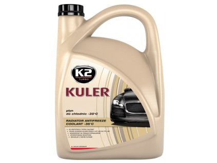 K2 KULER ČERVENÁ 5 l - nemrznoucí kapalina do chladiče do -35 °C