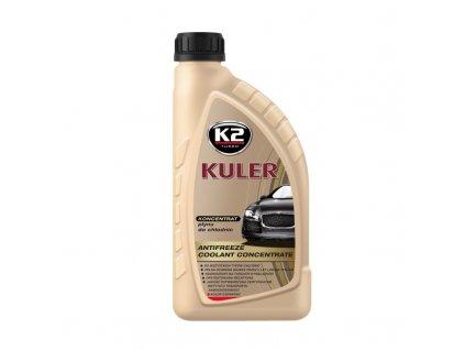 K2 KULER ČERVENÁ 1 l - nemrznoucí kapalina do chladiče do -50 °C koncentrát