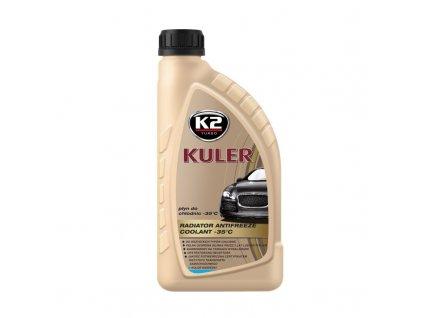 K2 KULER MODRÁ 1 l - nemrznoucí kapalina do chladiče do -35 °C