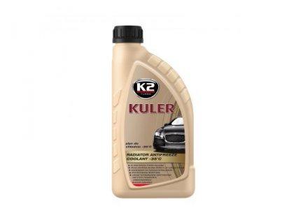 K2 KULER ČERVENÁ LONG LIFE 1L- nemrznoucí kapalina do chladiče do -35°C