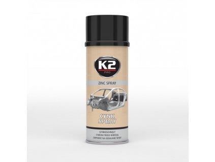 K2 ZINC spray - zinkový sprej L350 400ml