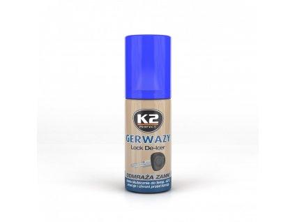 K2 GERWAZY odmražovač zámků K656 50 ml