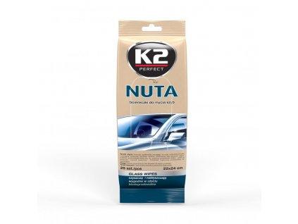K2 NUTA čistící ubrousky K500 22x24 cm - 25 ks
