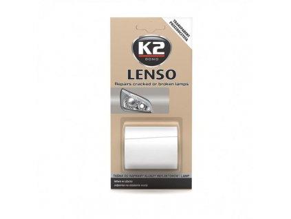 K2 LENSO opravná páska pro opravu světel - bezbarvá B340 - 4,8x150cm