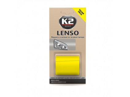 K2 LENSO opravná páska pro opravu světel - žluto-oranžová - B341 -4,8x152 cm